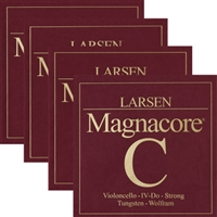 Larsen Magnacore Cello String Set - Heavy/Strong Gauge