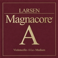 Larsen Magnacore Cello A String - Medium Gauge