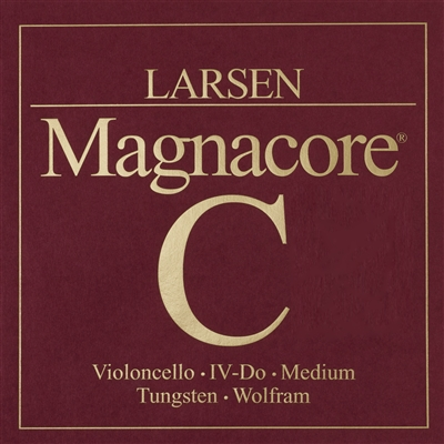 Larsen Magnacore Cello C String - 4/4 - Medium Gauge