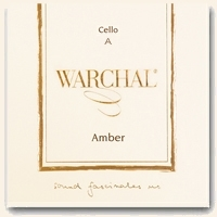 Warchal Amber Cello A String - Synthetic Core