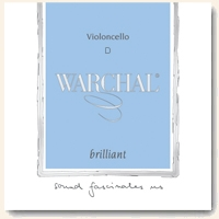 Warchal Brilliant Cello D String