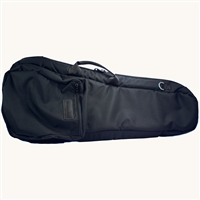 Mooradian Shaped Violin Case Cover w/ Backpack Straps - Black