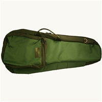 Mooradian Shaped Violin Case Cover w/ Backpack Straps - Green