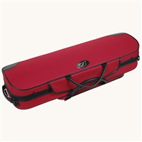 Pedi Steel-Reinforced Violin Case - Red