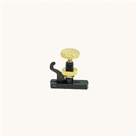 Wittner Hill-Style Fine Tuner for Violin - Black and Gold