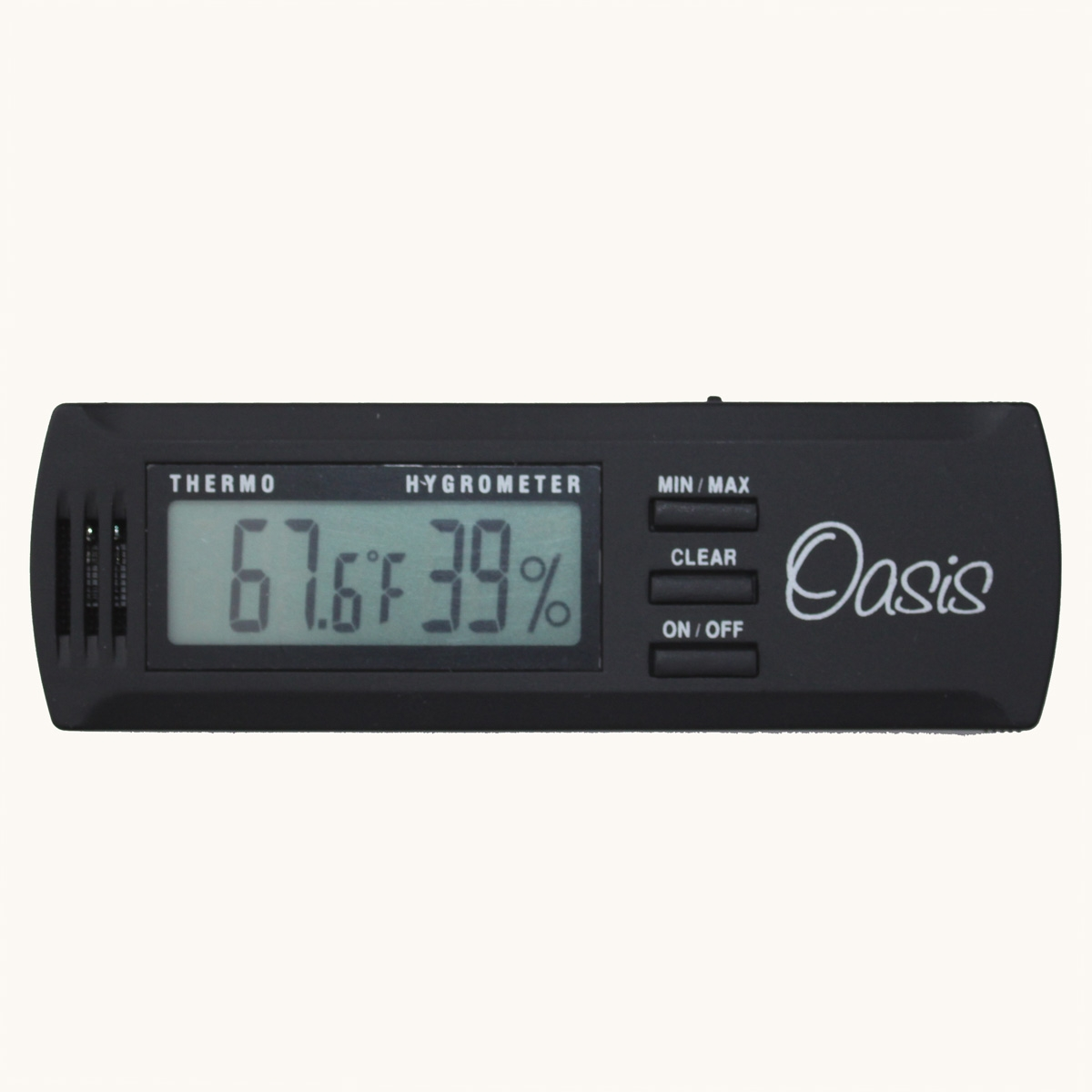 Oasis Digital Hygrometer And Thermometer
