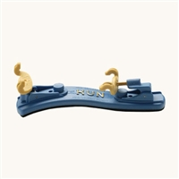 Kun Mini Collapsible Violin Shoulder Rest - 1/16-1/4 Size - Blue