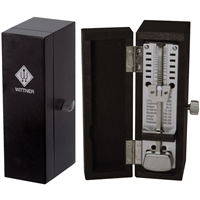 Wittner Taktell Super MIni Solid Wood Metronome - Black