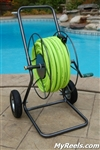 Two Wheeled Hose Reel Cart
