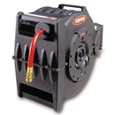 Retractable Air Hose Reel with 12 x 50 ft hose