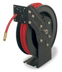 Workforce Series retractable 14 in ID x 50 ft open face air hose reel