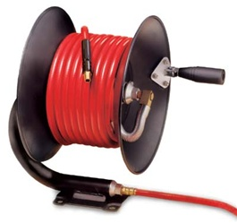 Manual Air Hose Reel with 50 ft hose