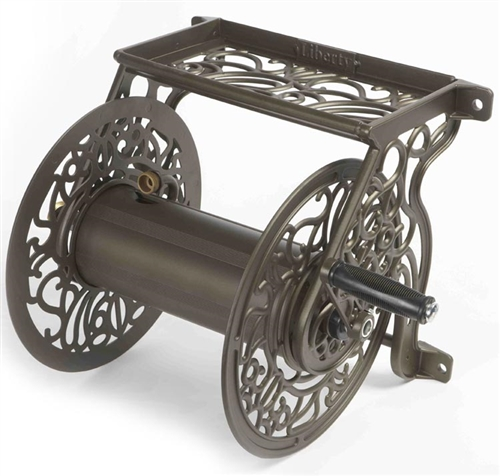 Liberty LGP 704 Decorative Wall Mount Garden Hose Reel MyReelscom