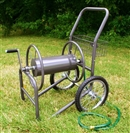 Industrial Grade Two Wheel Hose Reel Cart