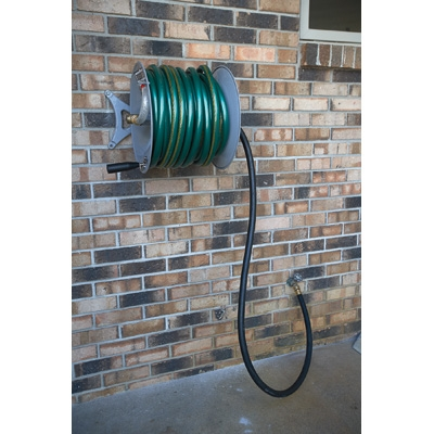 Roughneck 163150 Wall Mount Garden Hose Reel