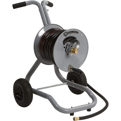Strongway Steel 2 Wheel Garden Hose Cart MyReelscom