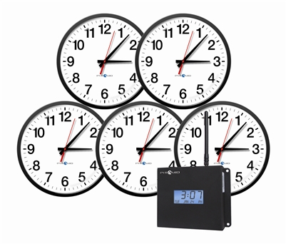 Synchronized/ Wireless Clock Bundles