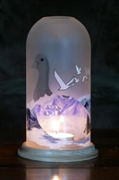 Sculpted Base-Grey Goose Luminary