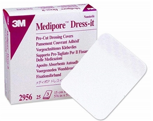 3M Medipore™ Dress-it Pre-cut Dressing Covers