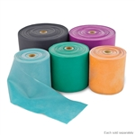 "BodySport 4"" Wide Exercise Band - 25 Yard Roll - Latex Free"