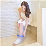 BrownMed Seal-Tight Cast & Bandage Protector - Original - Adult Leg / Foot