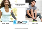 BrownMed IMAK Compression Arthritis Sleeve - Knee or Elbow