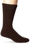 JOBST® SensiFoot Brown Crew Closed Toe Sock