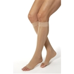 BSN Jobst Women's Opaque - Petite Knee High - 15-20 mmHg - Open Toe