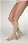 BSN Jobst Women's Opaque - Petite Knee High - 20-30 mmHg - Open Toe