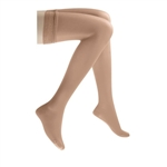 JOBST Women's UltraSheer Thigh High Lace Petite Closed Toe