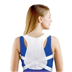 FLA Orthopedics® Posture Control Shoulder Brace - White