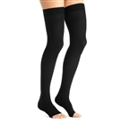 JOBST® Maternity Opaque Thigh High Compression Stockings, 20-30 mmHg, Open Toe