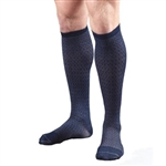 Activa® Men's Herringbone Pattern Dress Socks 15-20 mmHg Closed Toe