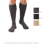 FLA Activa Mens Microfiber Compression Dress Socks - 20-30mmHg