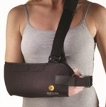 "Corflex 1/8"" Black Tricot Shoulder Immobilizer"
