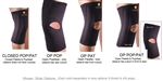 "Corflex 13"" Knee Sleeve w/Stays - 1/8"" thick"