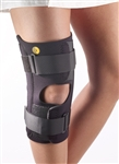 "Corflex 13"" Anterior Closure Knee Wrap w/ Stays - 3/16"" No Op Pop"