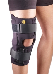 "Corflex 16"" Anterior Closure Knee Wrap w/ Hinge, 3/16"""