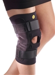 "Corflex 3/16"" Kinetic Posterior Adj Knee Sleeve w/Cor-Trak Buttress & Hinge - 13"""