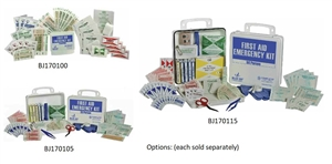 Blue Jay First Aid Emergency Kit - Kit Size Options