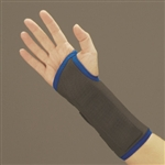 DeRoyal Premium Wrist Splint - D-Ring Closure - Tri-Tex