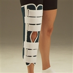 DeRoyal Hospital Grade Sized Foam Knee Immobilizer