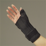 DeRoyal Black Foam Wrist and Thumb Brace