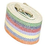 Kinsman Gait Transfer Belt - Rainbow - Cotton Waist