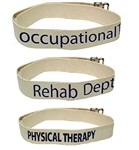 Kinsman Rehab Department Labeled Gait Belts