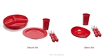 Redware Tableware Set by Maddak SP Ableware - 2 Set Options