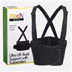 BodySport Ultra Lift Back Support W/ Suspenders