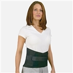 Med Spec Back-N-Black Back Black Brace Support