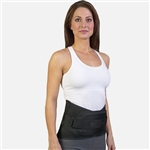 Med Spec Back-N-Black™ Back Support w/ Dual Panels