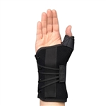Med Spec Ryno Lacer Wrist & Thumb Support - Short